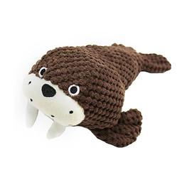 Patchwork Pet Walrus Plush Dog Toy
