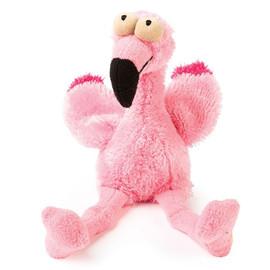 FuzzYard Flo The Flamingo Plush Dog Toy