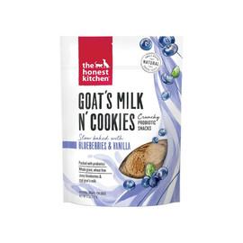 The Honest Kitchen Goat's Milk & Cookies Slow Baked w/ Blueberry & Vanilla Dog Treats -Front