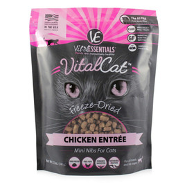 Vital Essentials Chicken Mini Nibs Freeze-Dried Cat Food - Front
