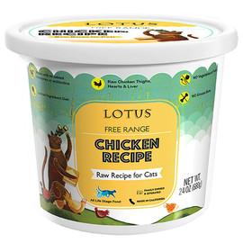 Lotus Raw Free Range Chicken Recipe Cat Food - Front