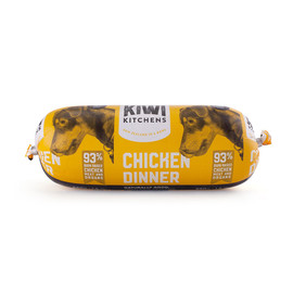 Kiwi Kitchens Frozen Cooked Chicken Roll Dog Food - Front