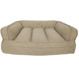 Rover Rest Walnut Charlie Orthopedic Sofa Dog Bed - Front