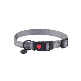 Friends Forever Nylon Reflective Dog Collar - Front