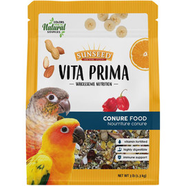 Vita Prima Sun Seed Wholesome Nutrition Conure Bird Food - Front