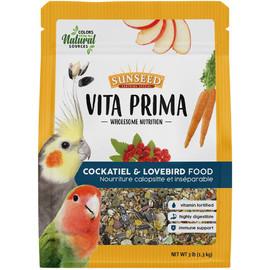 Vita Prima Sun Seed Wholesome Nutrition Cockatiel & Lovebird Bird Food - Front