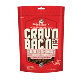 Stella & Chewy's Crav'n Bac'n Bites Bacon & Pork Recipe Dog Treats - Front