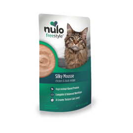 Nulo Freestyle Silky Mousse Chicken & Duck Recipe Wet Cat Food - Front