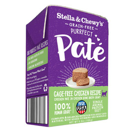 Stella & Chewy's Purrfect Pate Cage-Free Chicken Recipe Wet Cat Food - Front