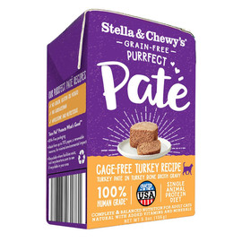 Stella & Chewy's Purrfect Pate Cage-Free Turkey Recipe Wet Cat Food - Front