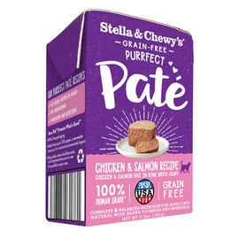 Stella & Chewy's Purrfect Pate Cage-Free Chicken & Salmon Recipe Wet Cat Food - Front