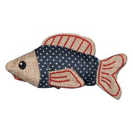Cat-itude Big Fish Catnip Cat Toy - Front