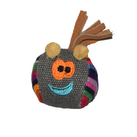 Cat-itude Ball Face Catnip Cat Toy - Front