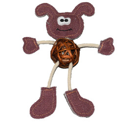Cat-itude Silly Puppy Catnip Cat Toy - Front