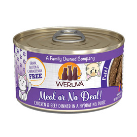 Weruva Meal or No Deal! with Chicken and Beef Canned Cat Food - Front