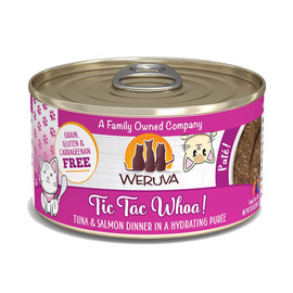 Weruva Tic Tac Whoa! with Tuna and Salmon Canned Cat Food - Front