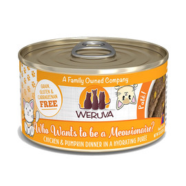Weruva Who wants to be a Meowionaire? with Chicken and Pumpkin Canned Cat Food - Front