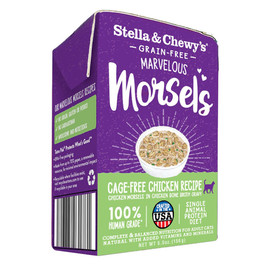 Stella & Chewy's Marvelous Morsels Cage-Free Chicken Recipe Wet Cat Food - Front