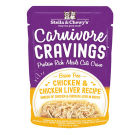 Stella & Chewy's Carnivore Cravings Chicken & Liver Recipe Wet Cat Food - Front