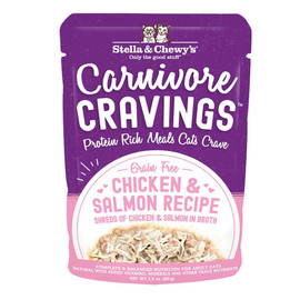 Stella & Chewy's Carnivore Cravings Chicken & Salmon Recipe Cat Food Pouch - Front