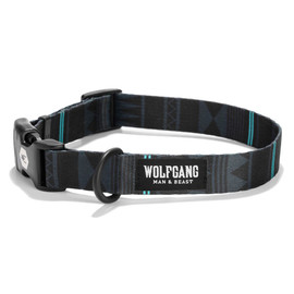 Wolfgang NightOwl Dog Collar - Front
