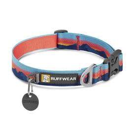 RuffWear Crag Sunset Reflective Dog Collar - Front