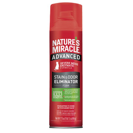 Nature's Miracle Advanced Stain & Odor Remover Foam for Cats - Front