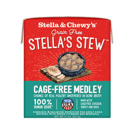Stella & Chewy's Stella's Stew Cage-Free Medley Recipe Wet Dog Food - Front