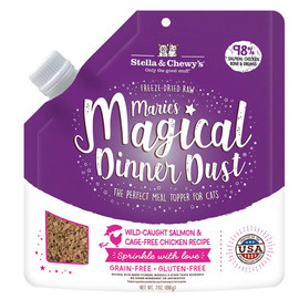 Stella & Chewy's Marie's Magical Dinner Dust Salmon & Chicken Freeze-Dried Cat Food - Front
