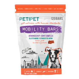 Petipet Mobility Bars Joint Health Dog Supplement - Front