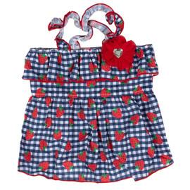 SimplyShe Strawberry Dog Dress - Front