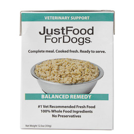 JustFoodForDogs Balanced Remedy Wet Dog Food - Front