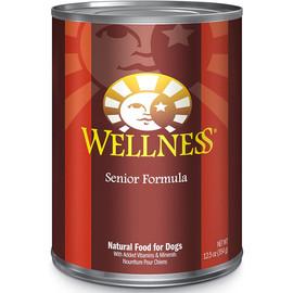 Wellness Complete Health Senior Formula Pate Canned Dog Food - Front