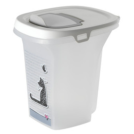 Moderna Trendy Story Cat Food Container - Front