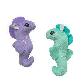 Snugarooz Kitty Seahorse w/ Catnip Plush Cat Toy - Front
