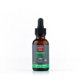 Primal 500 mg Organic Full Spectrum Hemp Oil w/ CBG for Large Dogs - Front