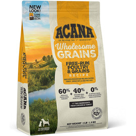 Acana Wholesome Grains Free-Run Poultry & Grains Recipe Dry Dog Food - Front