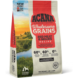 Acana Wholesome Grains Red Meat & Grains Recipe Dry Dog Food - Front