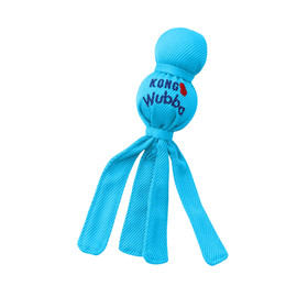 Kong Wubba Puppy Dog Toy, Assorted - Blue