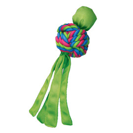 Kong Wubba Weaves Dog Toy, Assorted - Green