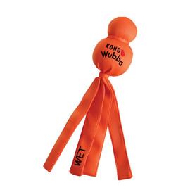 Kong Wubba Wet Dog Toy, Assorted - Orange