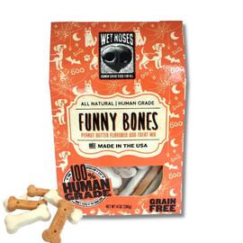 Wet Noses Funny Bones Halloween Dog Biscuits - Front
