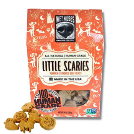 Wet Noses Little Scaries Halloween Dog Biscuits - Front