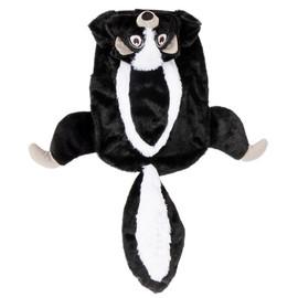 SimplyDog Halloween Skunk Dog Costume - Front