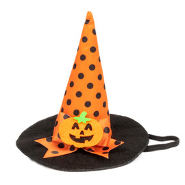 SimplyDog Halloween Witch Pet Hat - Front