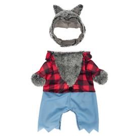 SimplyDog Halloween Werewolf Dog Costume - Front