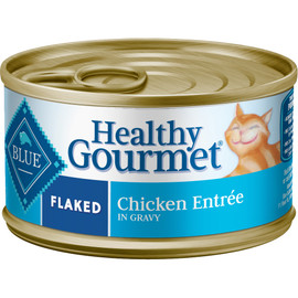 Blue Healthy Gourmet Adult Flaked Chicken Entrée Canned Cat Food