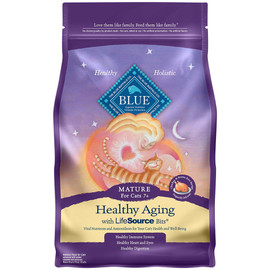 Blue Healthy Aging Mature Chicken & Brown Rice Dry Cat Food