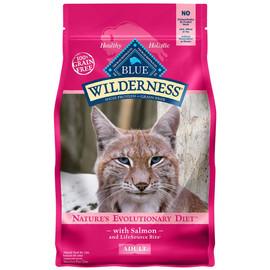 Blue Wilderness Adult Salmon Dry Cat Food