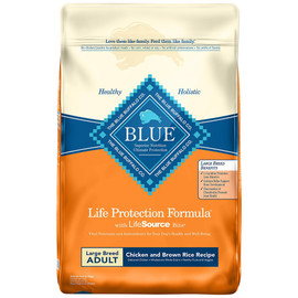 Blue Life Protection Formula Large Breed Adult Chicken and Brown Rice Recipe Dry Dog Food